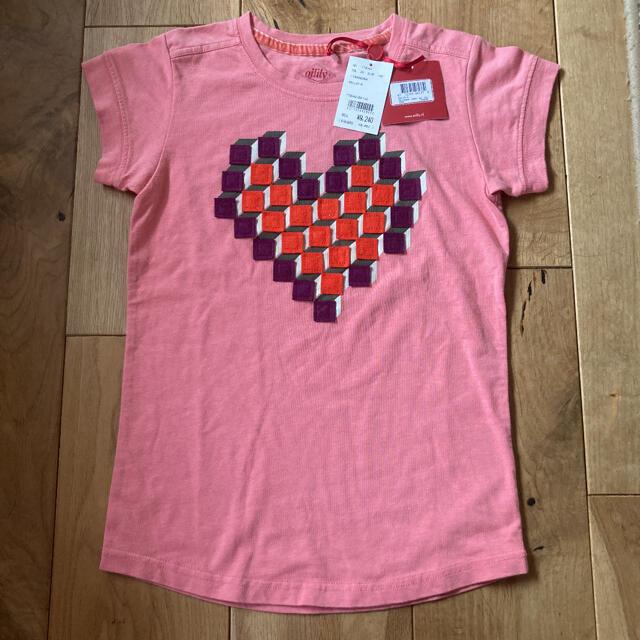オリーズ ジャパン Tシャツ シルク30% 新品 価格9240円のお品 キッズ/ベビー/マタニティのキッズ服女の子用(90cm~)(Tシャツ/カットソー)の商品写真