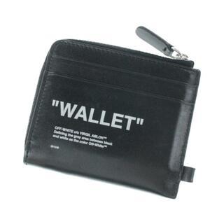 オフホワイト(OFF-WHITE)のOFF-WHITE 財布・コインケース メンズ(折り財布)