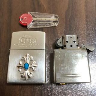 ZIPPO - ZIPPO ライター クロスメタル&ターコイズ ジッポシルバー 限定シリアルNo