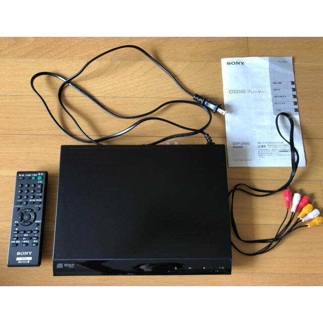 SONY(ソニー)のソニー DVDプレーヤー  DVP-SR20(2018年製) スマホ/家電/カメラのテレビ/映像機器(DVDプレーヤー)の商品写真