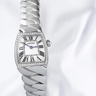 Cartier - 【保証書付】カルティエ ラドーニャ シルバー ダイヤ レディース 腕時計