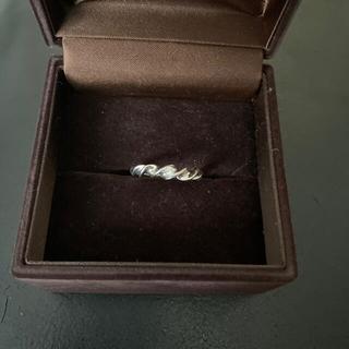 ダイヤ0.20  pt900 指輪