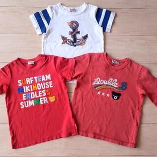 mikihouse - ミキハウス ダブルビー■半袖Tシャツ3点セット■110センチ プッチー君