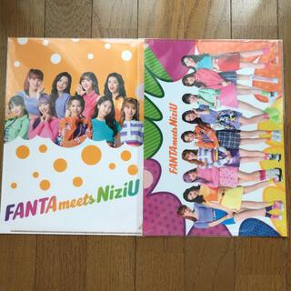 NiziU ファンタ オリジナル クリアファイル 2枚セット