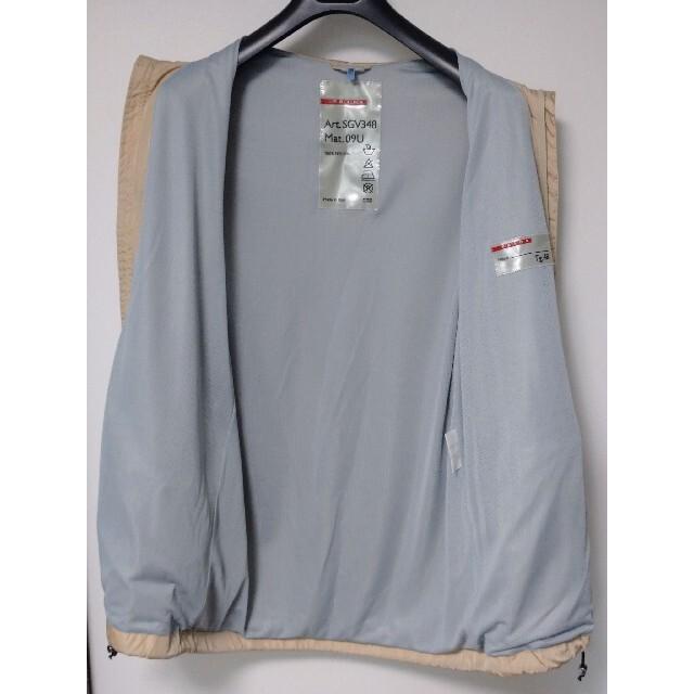 PRADA(プラダ)のプラダ ナイロンジャケット 48 グッチ ルイヴィトン ドルチェ&ガッバーナ メンズのジャケット/アウター(ナイロンジャケット)の商品写真