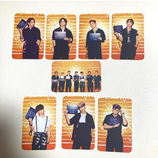 BTS トレカサイズのフォトカード 8枚セット