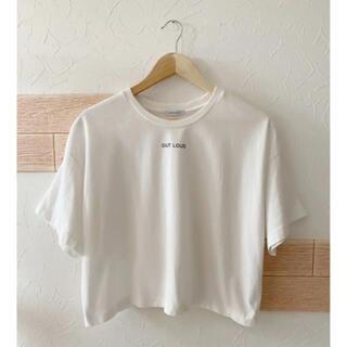 ジーナシス(JEANASIS)の★JEANASIS♡ワイドロゴTシャツ★(Tシャツ(半袖/袖なし))