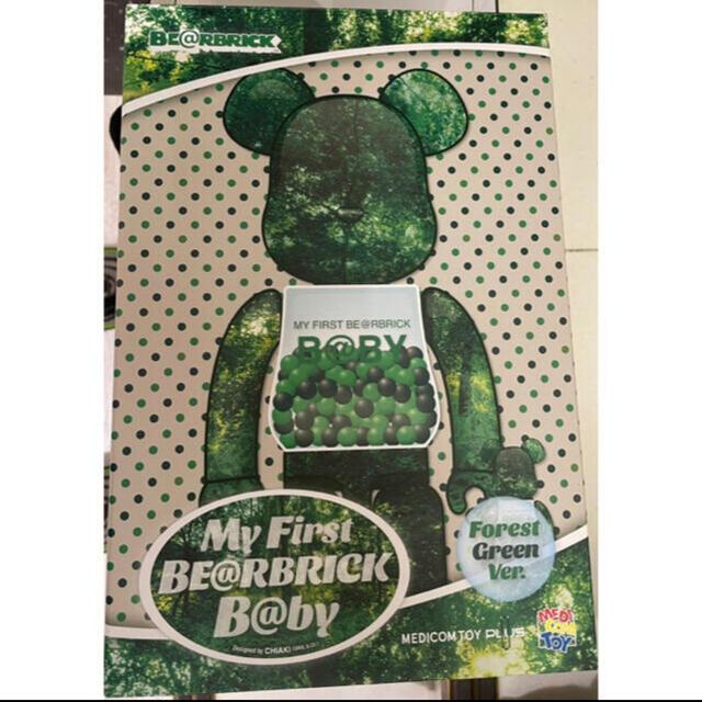 MEDICOM TOY(メディコムトイ)のMY FIRST BE@RBRICK B@BY FOREST GREEN  エンタメ/ホビーのフィギュア(その他)の商品写真