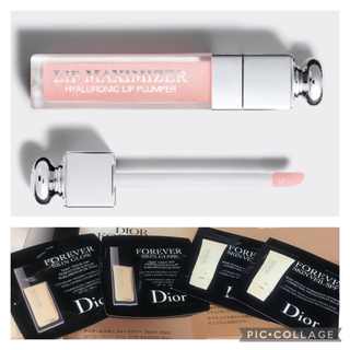 ディオール(Dior)のディオール 下地 ファンデーション リップ マキシマイザー サンプル(リップグロス)