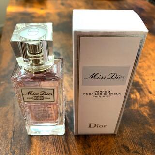 ディオール(Dior)のミス ディオール ヘアミスト 30mL おまけ付き(ヘアウォーター/ヘアミスト)