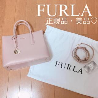 Furla - 【極美品】8/3まで値下げ♡FURLA♡フルラ♡2way♡ハンドバッグ♡ピンク