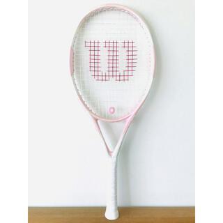 ウィルソン『ハンマー/HAMMER7』テニスラケット/ピンク/G2/超軽量/女性