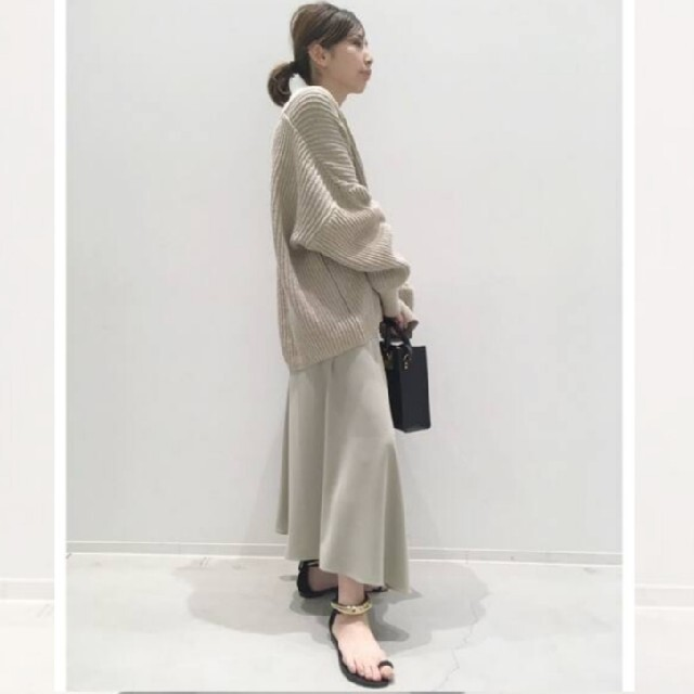 L'Appartement DEUXIEME CLASSE(アパルトモンドゥーズィエムクラス)のアパルトモン col pierrot Wrap スカート レディースのスカート(ロングスカート)の商品写真