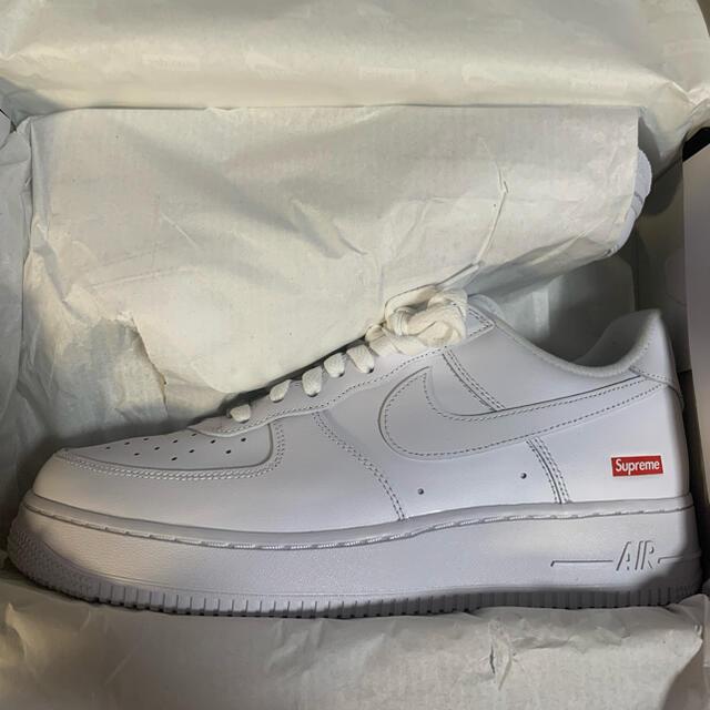Supreme(シュプリーム)のsupreme air force 1 nike white 27cm メンズの靴/シューズ(スニーカー)の商品写真