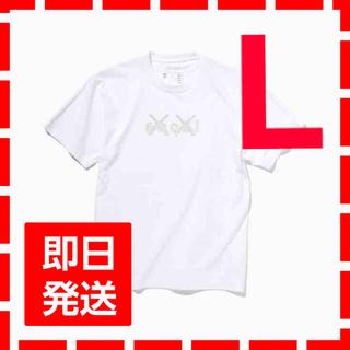 サカイ(sacai)のsacai kaws Tシャツ ホワイト Lサイズ(Tシャツ/カットソー(半袖/袖なし))