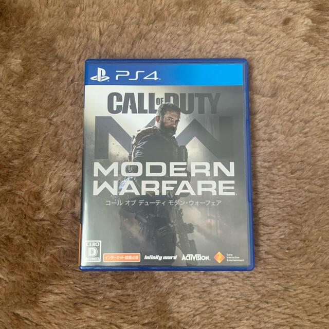 PlayStation4(プレイステーション4)のコール オブ デューティ モダン・ウォーフェア PS4 エンタメ/ホビーのゲームソフト/ゲーム機本体(家庭用ゲームソフト)の商品写真