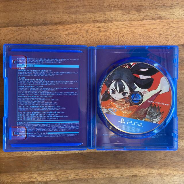 PlayStation4(プレイステーション4)の天穂のサクナヒメ PS4 エンタメ/ホビーのゲームソフト/ゲーム機本体(家庭用ゲームソフト)の商品写真