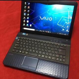 ソニー(SONY)のvaio  i5   SSD120GB  4GB ノートパソコン(ノートPC)