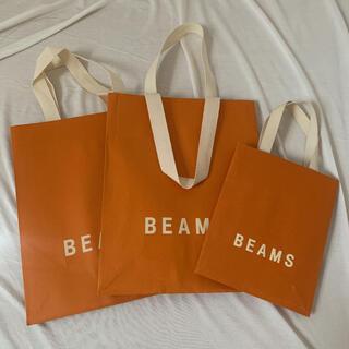 BEAMS - BEAMS 紙袋 ショップ袋 3枚