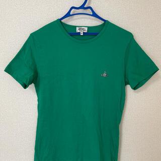 ヴィヴィアンウエストウッド(Vivienne Westwood)のヴィヴィアンウエストウッド Vivienne Westwood Tシャツ 緑 M(Tシャツ/カットソー(半袖/袖なし))