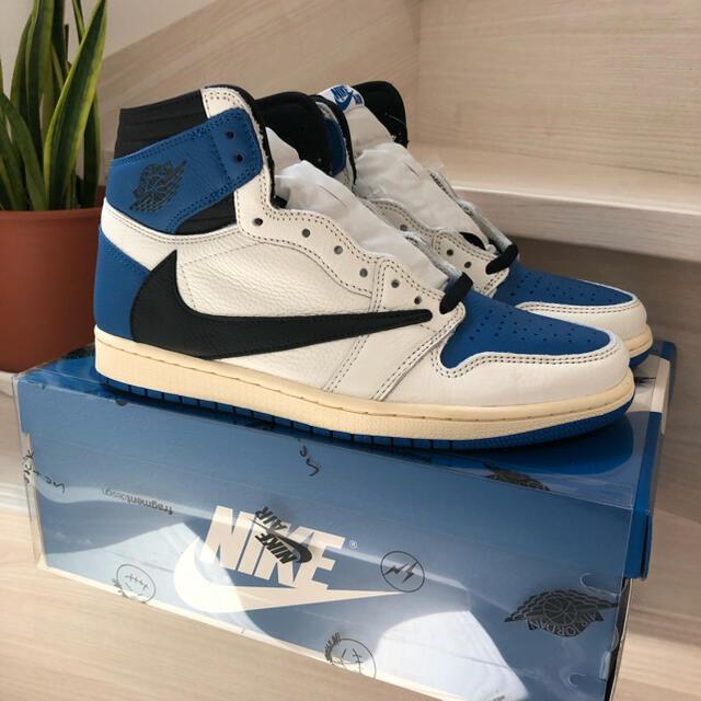 NIKE(ナイキ)のJordan 1 Travis Scott Fragment Design メンズの靴/シューズ(スニーカー)の商品写真