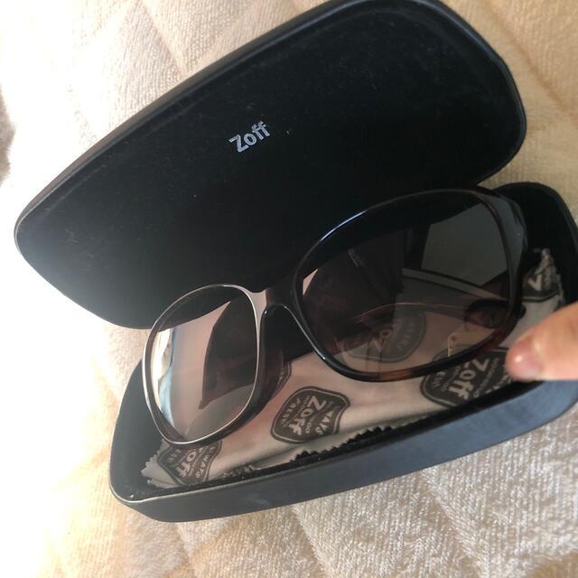 Zoff(ゾフ)のゾフ サングラス レディースのファッション小物(サングラス/メガネ)の商品写真