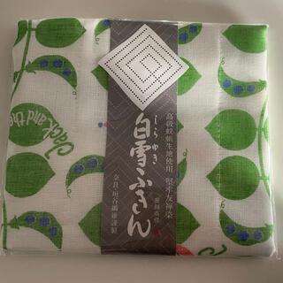 新品 白雪ふきん  ジャックと豆の木柄グリーンです