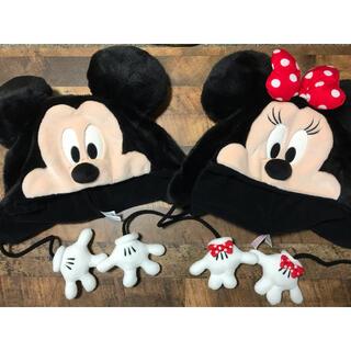 Disney - ディズニー ミッキー ミニー ファンキャップ 帽子 被り物 ディズニーリゾート