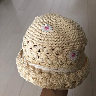 スーリー(Souris)のスーリー 麦わら帽子 スローハット 54cm(帽子)