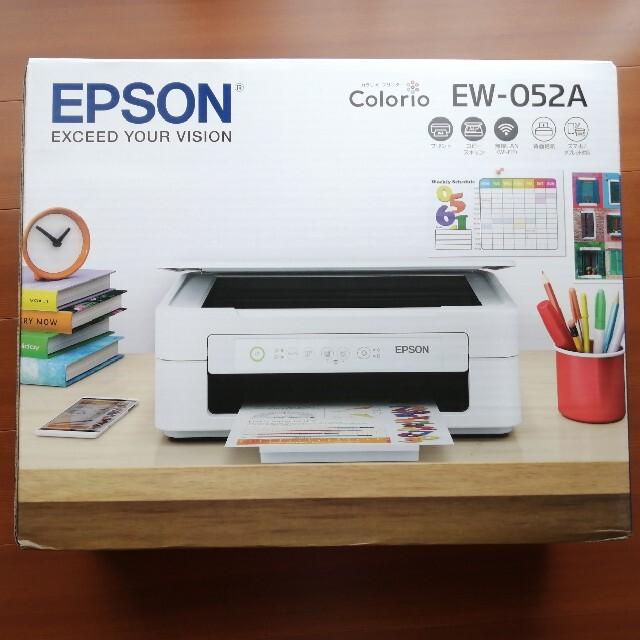 EPSON(エプソン)のエプソン EPSON EW-052A  プリンター複合機 インクなし スマホ/家電/カメラのPC/タブレット(PC周辺機器)の商品写真