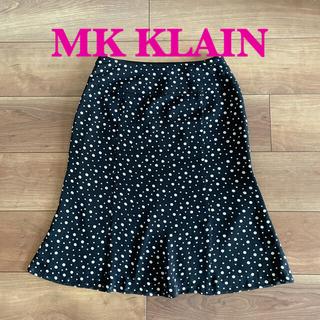 MK KLEIN+ - 《 MK KLAIN 》ミッシェル クラン ドット シフォン スカート