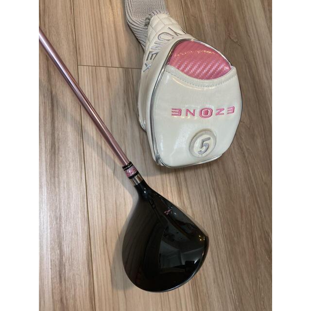 YONEX(ヨネックス)の【送料無料】レディスYONEX フェアウェイウッド(5W) スポーツ/アウトドアのゴルフ(クラブ)の商品写真