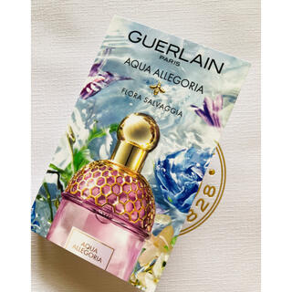 GUERLAIN - guerlain ゲラン アクアアレゴリア フローラサルヴァジア サンプル