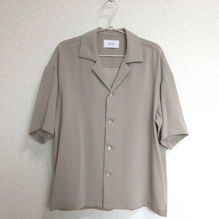 STUDIOUS - オープンカラーシャツ