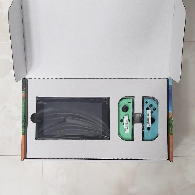 任天堂(ニンテンドウ)のNintendo Switch あつまれ どうぶつの森セット/Switch/HA エンタメ/ホビーのゲームソフト/ゲーム機本体(家庭用ゲーム機本体)の商品写真