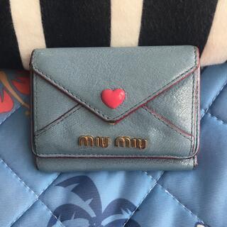miumiu - ミュウミュウ      三つ折り財布♡