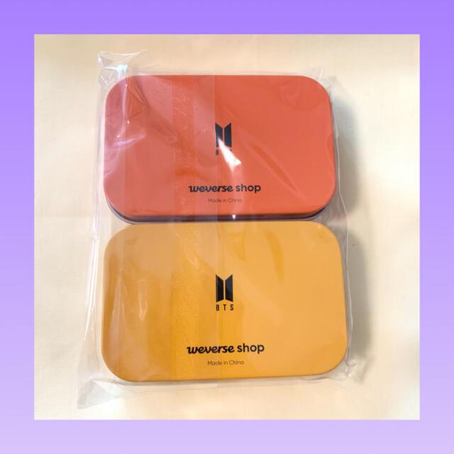 防弾少年団(BTS)(ボウダンショウネンダン)のBTS  Butter  weverse特典ケース  2種セット エンタメ/ホビーのタレントグッズ(アイドルグッズ)の商品写真