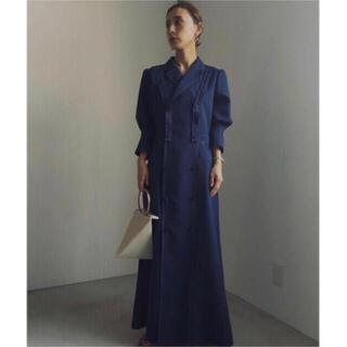 アメリヴィンテージ(Ameri VINTAGE)のAMERI TAILOR SUSPENDER DRESS (ロングワンピース/マキシワンピース)