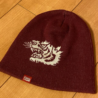 オニツカタイガー(Onitsuka Tiger)のオニツカタイガー メンズ ニット帽 フリーサイズ(ニット帽/ビーニー)