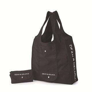 DEAN & DELUCA - DEAN&DELUCA エコバッグ折りたたみコットンショッピングバッグ ブラック