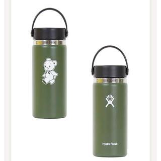 familiar - ファミリア ハイドロフラスク カーキ 水筒