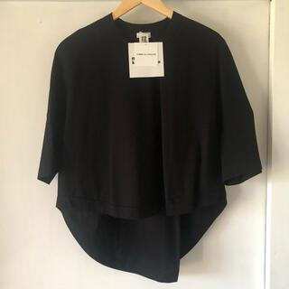 コムデギャルソン(COMME des GARCONS)の新品 noir kei ninomiya コムデギャルソン トップス tシャツ(Tシャツ(半袖/袖なし))