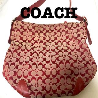 COACH - COACH トートバッグ ハンドバッグ 赤