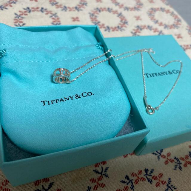 Tiffany & Co.(ティファニー)のティファニー ほぼ新品 アトラスオープンネックレス レディースのアクセサリー(ネックレス)の商品写真