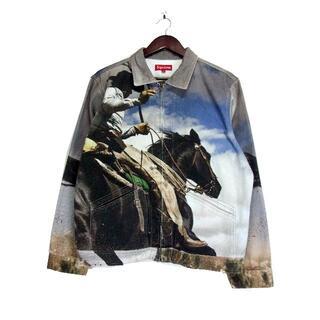 Supreme - シュプリームSupreme■17SS Cowboy Denimワークジャケット
