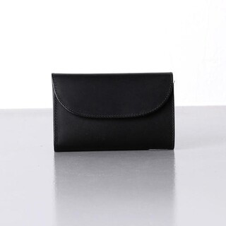 ホワイトハウスコックス(WHITEHOUSE COX)の【新品未使用品】ホワイトハウスコックス 三つ折りブラック(折り財布)