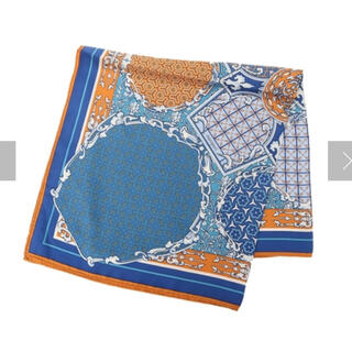 IENA - 新品 未使用 マニプリ manipuri シルクスカーフ 65センチ