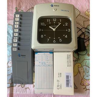 Tokai TS-001 タイムレコード、Cカード100枚などセットで格安出品(オフィス用品一般)