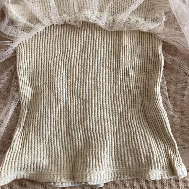 【mamaraku】トップス 100 キッズ/ベビー/マタニティのキッズ服女の子用(90cm~)(Tシャツ/カットソー)の商品写真