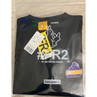 XLARGE - XLARGE #FR2 Rabbit OG Logo Tシャツ 黒 L